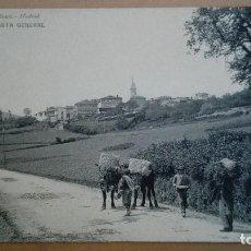 Postales: POSTAL MUROS DE NALON Nº 1951 VISTA GENERAL ED HAUSER Y MENET ASTURIAS GIJON OVIEDO PERFECTA CONSERV. Lote 101456011