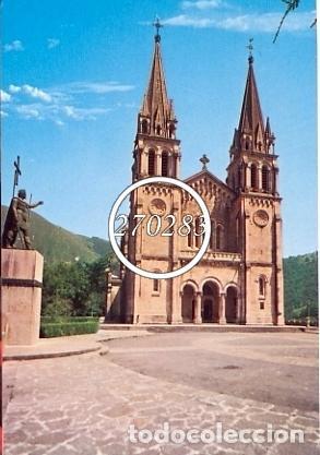 COVADONGA (ASTURIAS) Nº 89 BASILICA Y ESTATUA DEL REY DON PELAYO - ED. ARRIBAS - S/CIRC- AÑO 1996 (Postales - España - Asturias Moderna (desde 1.940))