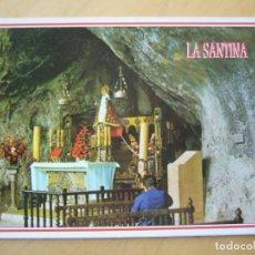 Postales: COVADONGA (ASTURIAS) - INTERIOR DE LA GRUTA. Lote 103819591