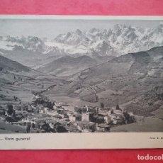 Postales: POTES ANTIGUA POSTAL VISTA GENERAL FOTOGRAFÍA E. BUSTAMANTE CANTABRIA . Lote 103840971