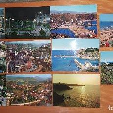 Postales: LUARCA,,, 11 POSTALES ANTIGUAS,,. Lote 103855911