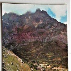 Postales: PICOS DE EUROPA. 19 VALLE DE VALDEÓN, CAÍN Y RÍO CARES. AL FONDO, PEÑA BLANCA. ED. SICILIA. NUEVA. Lote 103925246