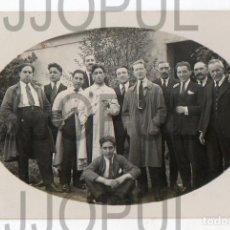 Postales: OVIEDO. PERSONAL DE LA SOCIEDAD INDUSTRIAL ASTURIANA. OCTUBRE 1923. FOTOGRÁFICA. ASTURIAS. Lote 105873483