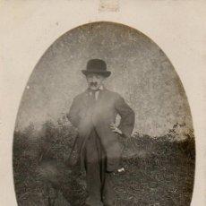 Postales: CANDÁS. NIÑO DISFRAZADO DE CHARLOT. CARNAVAL. 1924. Lote 105874291