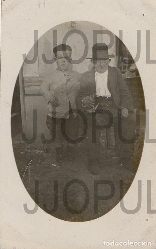 PERLORA. CANDÁS. CARREÑO. TIPOS POPULARES. 1923. FOTOGRÁFICA. FOTO M GONZALEZ. ASTURIAS (Postales - España - Asturias Antigua (hasta 1.939))