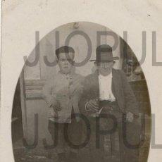 Postales: PERLORA. CANDÁS. CARREÑO. TIPOS POPULARES. 1923. FOTOGRÁFICA. FOTO M GONZALEZ. ASTURIAS. Lote 105935655