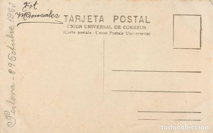 Postales: PERLORA. CANDÁS. CARREÑO. TIPOS POPULARES. 1923. FOTOGRÁFICA. FOTO M GONZALEZ. ASTURIAS - Foto 2 - 105935655