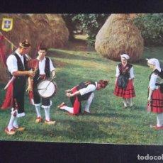 Cartes Postales: ASTURIAS-V44-NUEVO-BAILE-PERICOTE DE LLANES. Lote 105994847