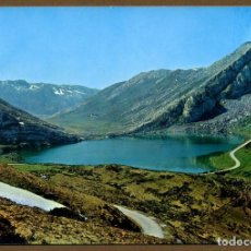 Postales: POSTA ASTURIAS - CAVADONGA LAGO ENOL. Lote 106041151
