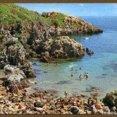 Postales: POSTAL ASTURIAS - PERLORA PLAYA DE LA ISLA. Lote 106059127