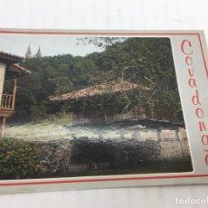 Postales: POSTAL SIN CIRCULAR DE COVADONGA - 138 PICOS DE EUROPA, HÓRREO EN COVADONGA - 1987. Lote 106793683