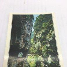 Postales: POSTAL SIN CIRCULAR DE RUTA DEL CARES - Nº59 PICOS DE EUROPA - DESFILADERO DEL RIO CARES - 1991. Lote 106800027