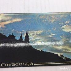 Postales: POSTAL SIN CIRCULAR DE COVADONGA - Nº 209 - ATARDECER EN EL SANTUARIO - 1990. Lote 106903143