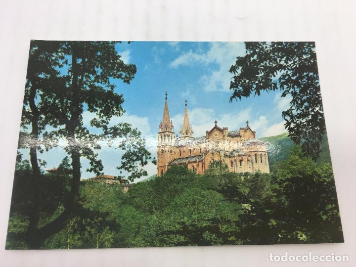 POSTAL SIN CIRCULAR DE COVADONGA - Nº 59 - LA BASILICA (Postales - España - Asturias Moderna (desde 1.940))