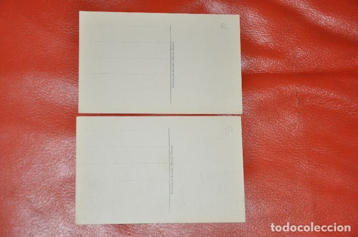 Postales: ESCUELA SELGAS , OVIEDO , LOTE DE 2 POSTALES , HAUSER Y MENET , SIN CIRCULAR - Foto 2 - 107009807