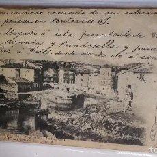 Postales: ANTIGUA POSTAL LLANES-AUTOR FERNANDEZ Y FERNANDEZ LAS NOVEDADES. Lote 107647955