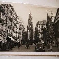 Postales: SAN SEBASTIAN CALLE S. IGNACIO-FOTO GALARZA Y PRADERA -1956. Lote 107648491