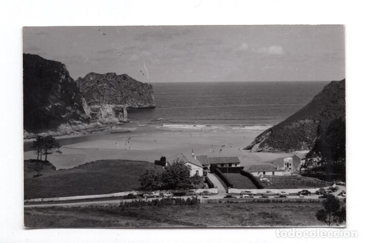 LA FRANCA. VISTA DE LA PLAYA. FOTOS Y EDICIÓN RAMÓN ROZAS. (Postales - España - Asturias Moderna (desde 1.940))