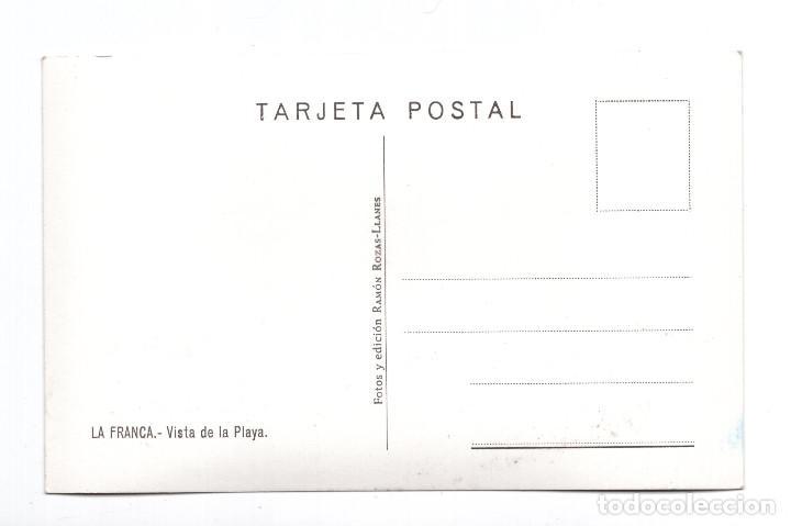 Postales: LA FRANCA. VISTA DE LA PLAYA. FOTOS Y EDICIÓN RAMÓN ROZAS. - Foto 2 - 108050695