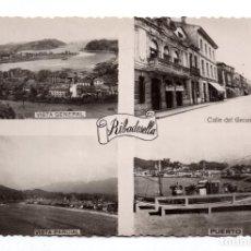 Postales: RIBADESELLA . ASTURIAS.- VARIAS VISTAS . -FOTOMELLY. OVIEDO. Lote 108056735