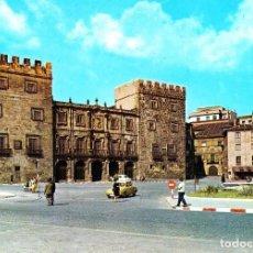 Postales: GIJON -PALACIO DE REVILLAGIGEDO Y MONUMENTO A PELAYO- (ED. ALARDE Nº 54) SIN CIRCULAR / P-1774. Lote 109156527