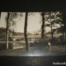 Postales: PRAVIA ASTURIAS ORILLAS DEL NALON POSTAL FOTOGRAFICA H. 1915. Lote 109403239