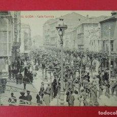 Postales: ANTIGUA POSTAL DE GIJON ( ASTURIAS) - CALLE CORRIDA - EDICIONES S. RODERO , GIJÓN .... R-8228. Lote 110737743
