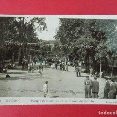Postales: ANTIGUA POSTAL DE OVIEDO - PARQUE DE S. FRANCISCO, PASEO DEL BOMBA - FOTO L. ROISIN .... R-8229. Lote 110737903