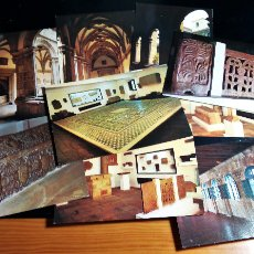 Postales: 9 POSTALES NºS 2 3 4 5 6 7 9 10 14 MUSEO ARGUEOLÓGICO PROVINCIAL DE OVIEDO IMPRESO POR FOURNIER. Lote 110931859