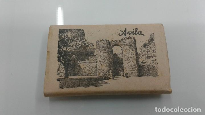 ACORDEON 12 POSTALES AVILA AÑOS 50 BUEN ESTADO POSTAL MURALLAS (Postales - España - Asturias Moderna (desde 1.940))
