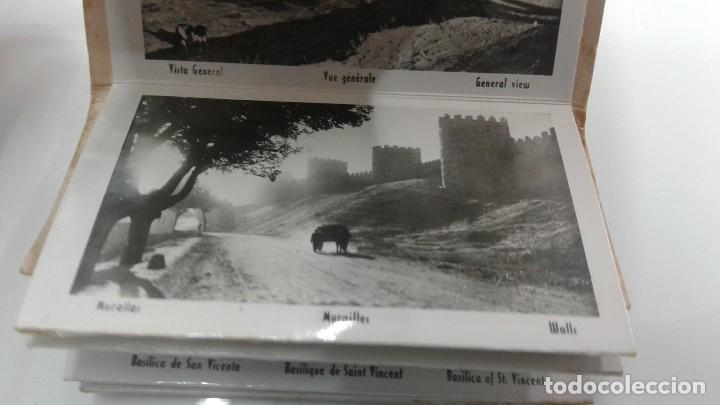 Postales: ACORDEON 12 POSTALES AVILA AÑOS 50 BUEN ESTADO POSTAL MURALLAS - Foto 2 - 113278939