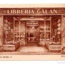 Postales: OVIEDO, ASTURIAS.- LIBRERIA GALAN PALACIO VALDES 2. Lote 115122347