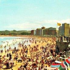Postales: GIJON -PLAYA DE SAN LORENZO- (EDICIONES ALCE Nº 307) SIN CIRCULAR / P-2775. Lote 115306351