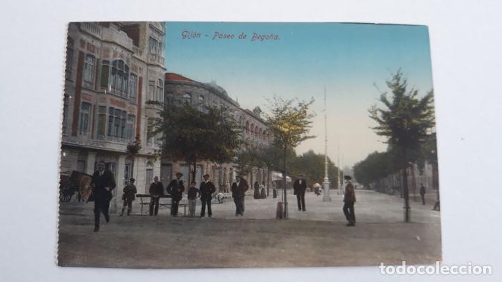 GIJON.PASEO DE BEGOÑA (Postales - España - Asturias Antigua (hasta 1.939))