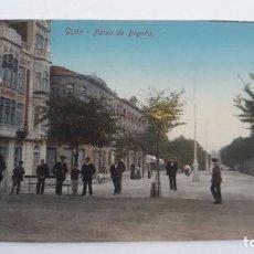 Postales: GIJON.PASEO DE BEGOÑA. Lote 115381419