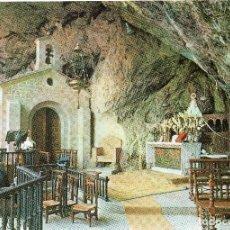 Postales: COVADONGA - ASTURIAS - GRUTA Y VIRGEN DE COVADONGA. Lote 115547751