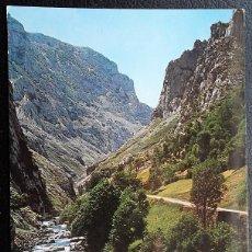 Postales: PICOS DE EUROPA. 283 RUTA DESFILADERO DEL CARES. REGIÓN DE CAMARMEÑA. ED. ALCE. USADA CON SELLO.. Lote 115652732