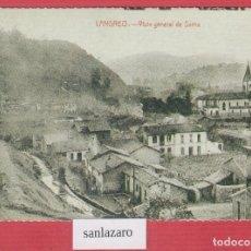 Postales: TARJETA POSTAL TURÍSTICA DE LANGREO, VISTA GENERAL DE SAMA AÑO 1961 EN BLANCO Y NEGRO P466. Lote 116077167