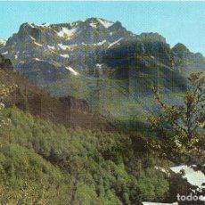 Postales: PICOS DE EUROPA MIRADOR DE PIEDRASITAS .AL FONDO MACIZO DE TORRE BERMEJA , CERREDO Y LLAMBRION . Lote 116556107