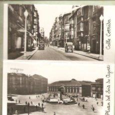 Postales: BLOC-LIBRILLO, 10 FOTOS GIJÓN, TAMAÑO PEQUEÑO, 4,5X9, VER FOTOS, RARO. Lote 116681595