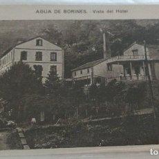 Postales: AGUA DE BORINES. VISTA DEL HOTEL ASTURIAS. SIN CIRCULAR.. Lote 116705531