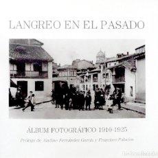 Postales: 3 LIBROS DE FOTOGRAFIAS DE LANGREO EN EL PASADO SE VENDEN JUNTOS O POR SEPARADO FRANCINE. Lote 117188415