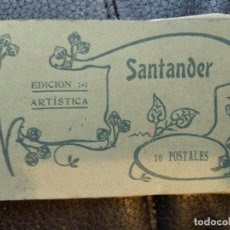 Postales: BLOC SANTANDER 10 POSTALES FOTOTIPIA CASTAÑEIRA ÁLVAREZ. Lote 118101067