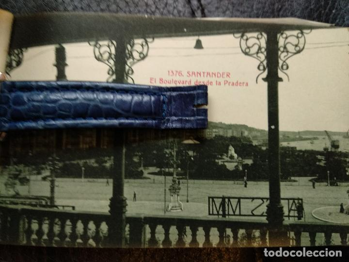 Postales: Bloc Santander 10 postales fototipia castañeira Álvarez - Foto 4 - 118101067