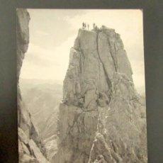 Postales: POSTAL FOTOGRÁFICA ASTURIAS. REGIÓN DE LIÉBANA, PICOS DE EUROPA. NARANJO BULNES. BUSTAMANTE, 1962. . Lote 118569567