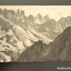 Postales: POSTAL FOTOGRÁFICA ASTURIAS. REGIÓN DE LIÉBANA, PICOS DE EUROPA. NARANJO BULNES. BUSTAMANTE, 1962. . Lote 118569607