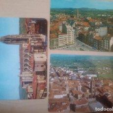 Postales: OVIEDO CATEDRAL VISTA AEREA GENERAL TORRE. Lote 119098819
