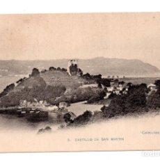 Postales: ASTURIAS.- CASTILLO DE SAN MARTIN - COLECCIÓN MARTIN. Lote 122225007