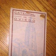 Postales: CATEDRAL DE OVIEDO APUNTES DE ALFONSO 18 TARJETAS POSTALES BOCETOS DE ALFONSO IGLESIAS AUTOR PININ. Lote 122558391