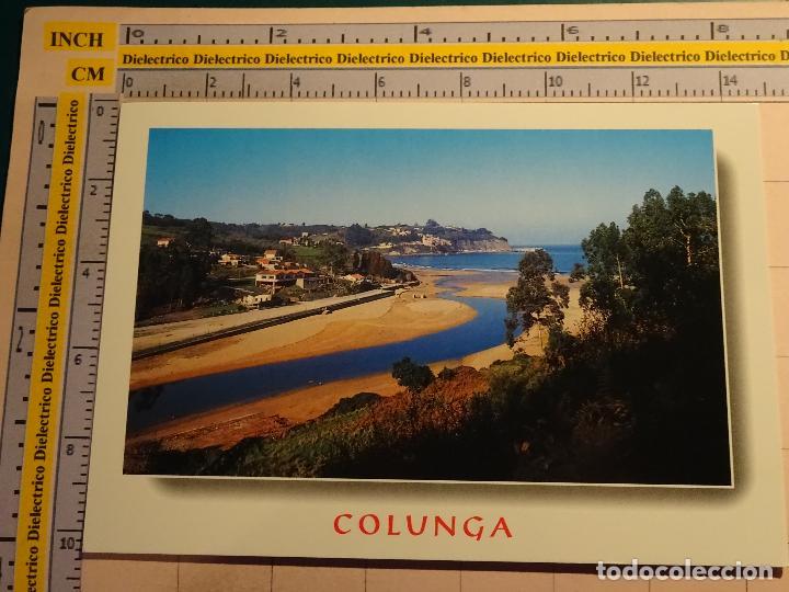 POSTAL DE ASTURIAS. COLUNGA, RÍA DE COLUNGA. 1876 (Postales - España - Asturias Moderna (desde 1.940))